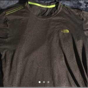 The North Face shirt synthetic sports material